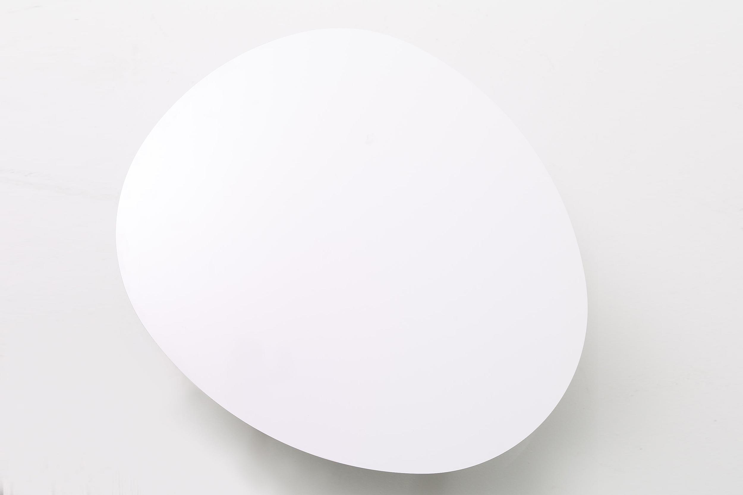 Morris coffee table model 6 in matte white