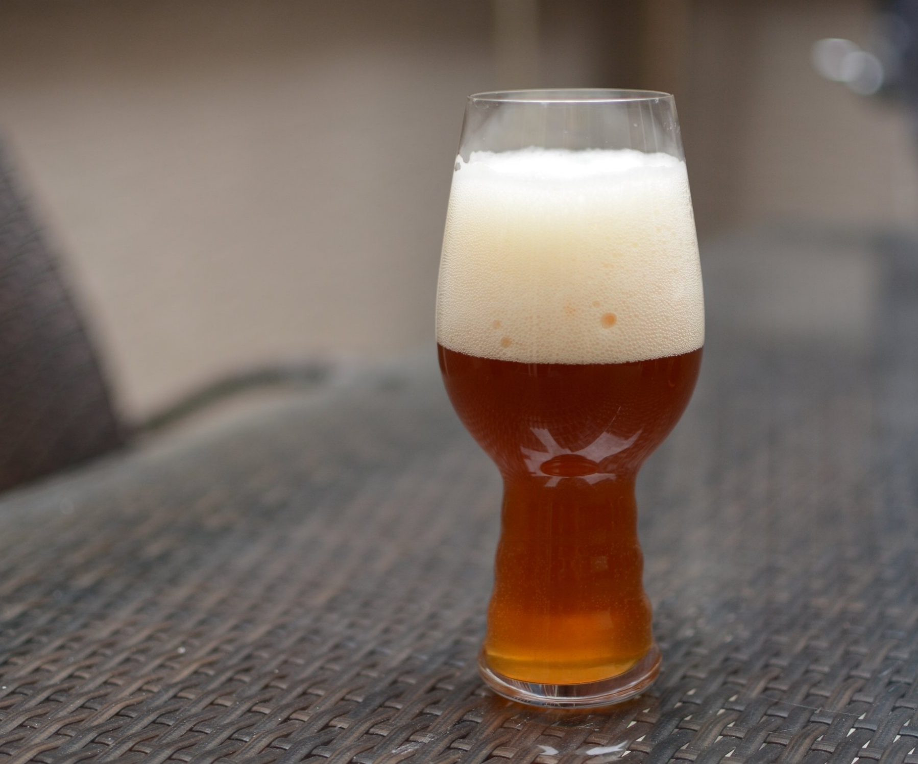 Pumpkin Saison - orange hue from pumpkin. intensity of spice relative to the beholder - too much for me