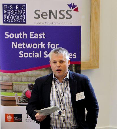 Prof Fragkiskos Filippaios at the SeNSS Summer Conference in 2018