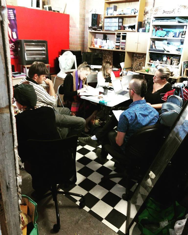 Production Meeting means a crowed NPG (Nexus Production Group) Office.
