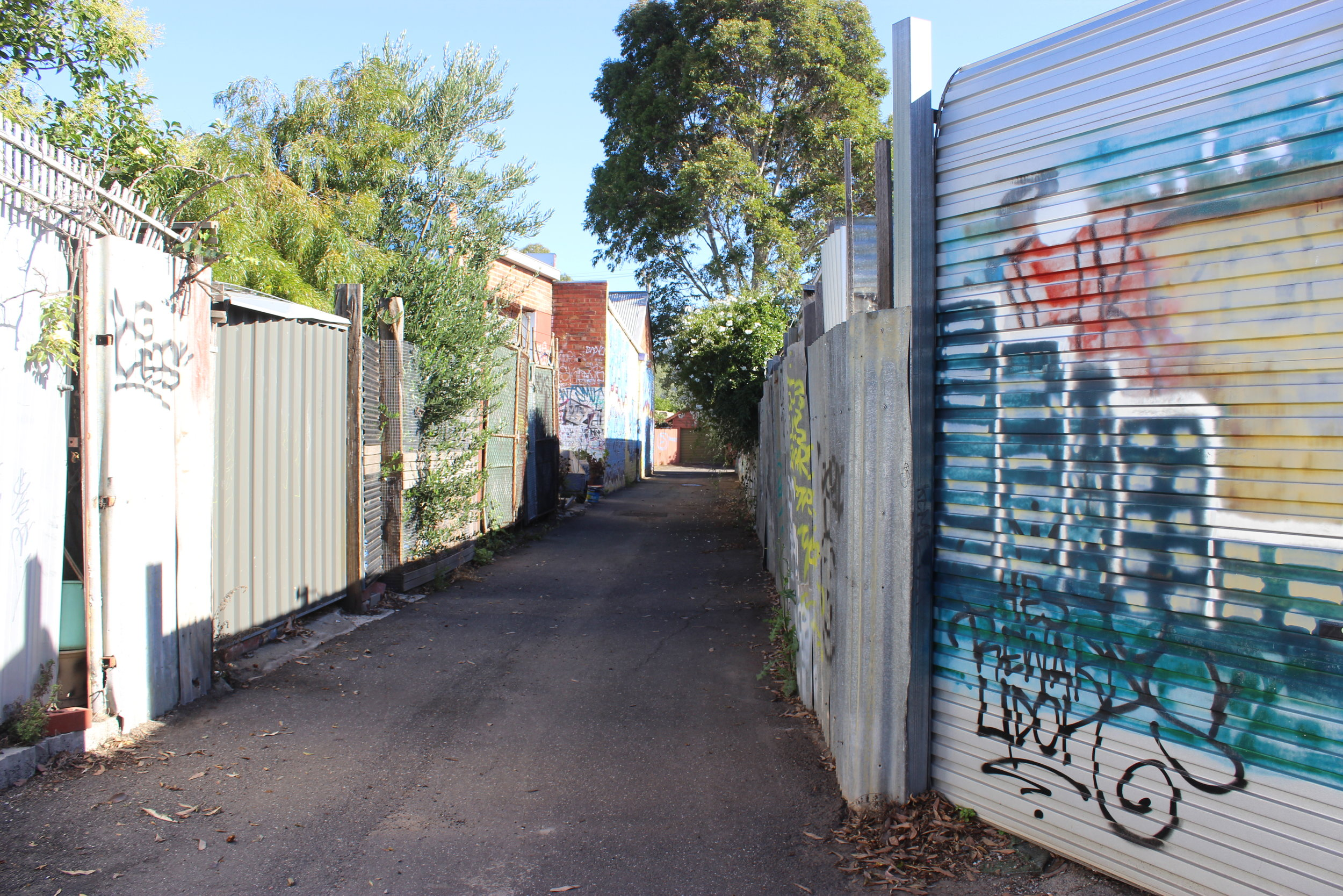 Alleyway in Northcote  Photo Credit Lucinda Bruce