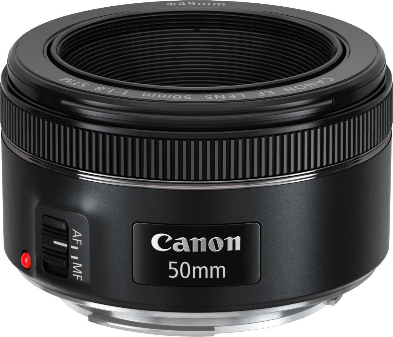 Canon 50mm 1.8 - Muy económico