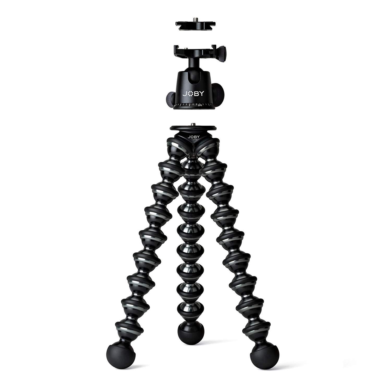 Joby Gorillapod Focus + Ballhead X - Para cámaras más grandes, reflex (DSLR)
