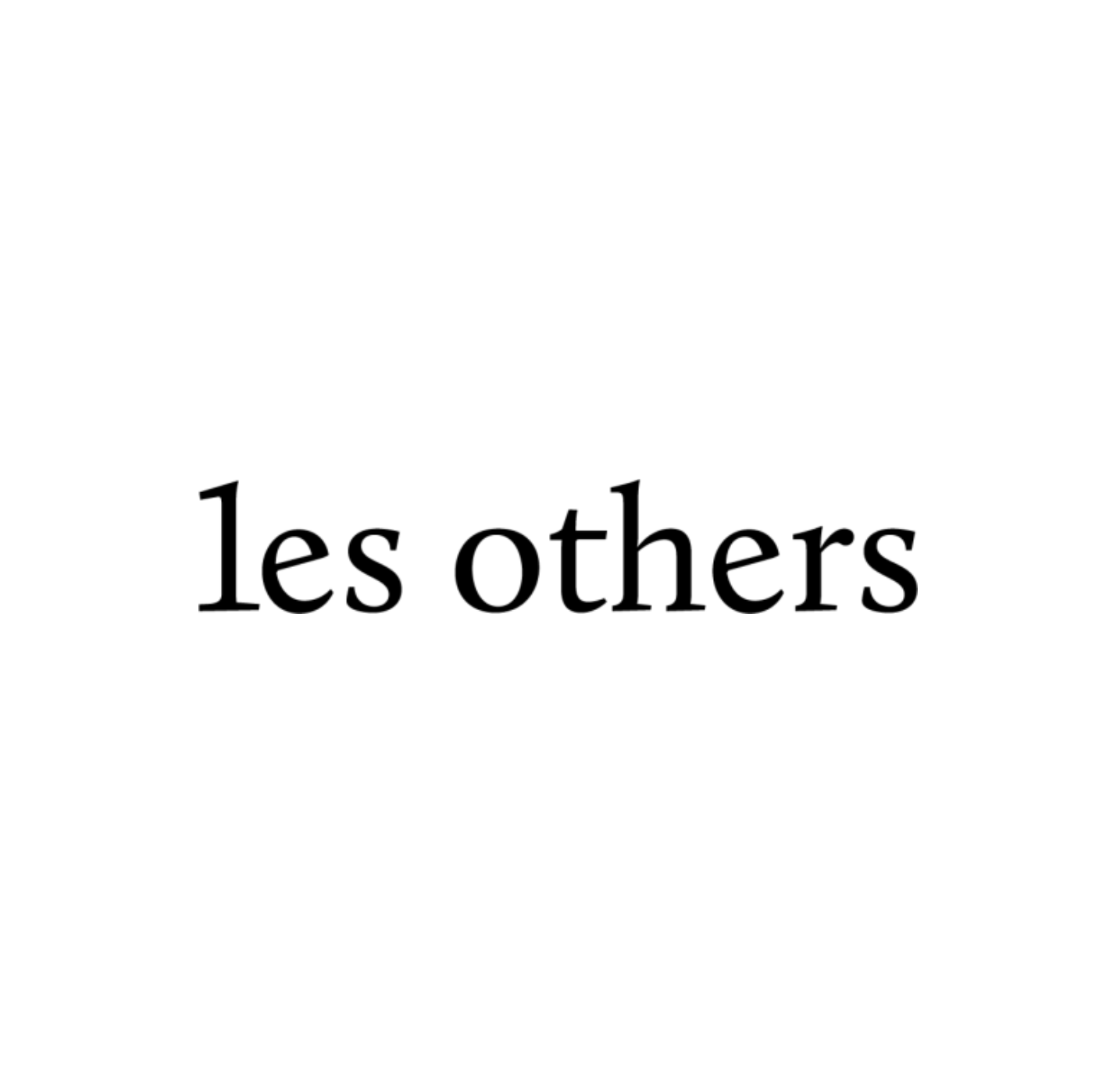 Les Others logo Joost Bastmeijer