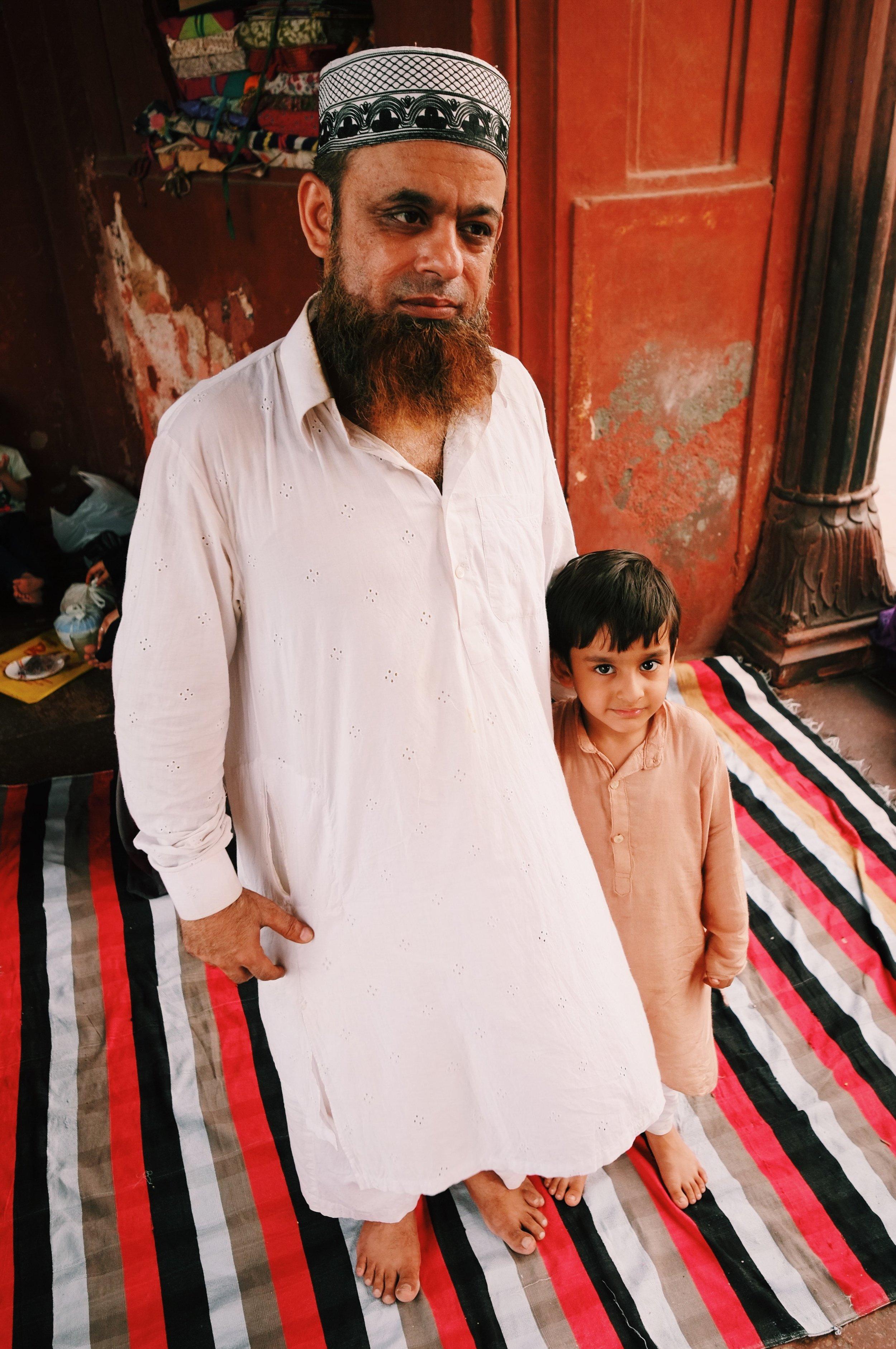 Jama Masjid Family Ramadan Friday Mosque New Delhi India Joost Bastmeijer.jpeg