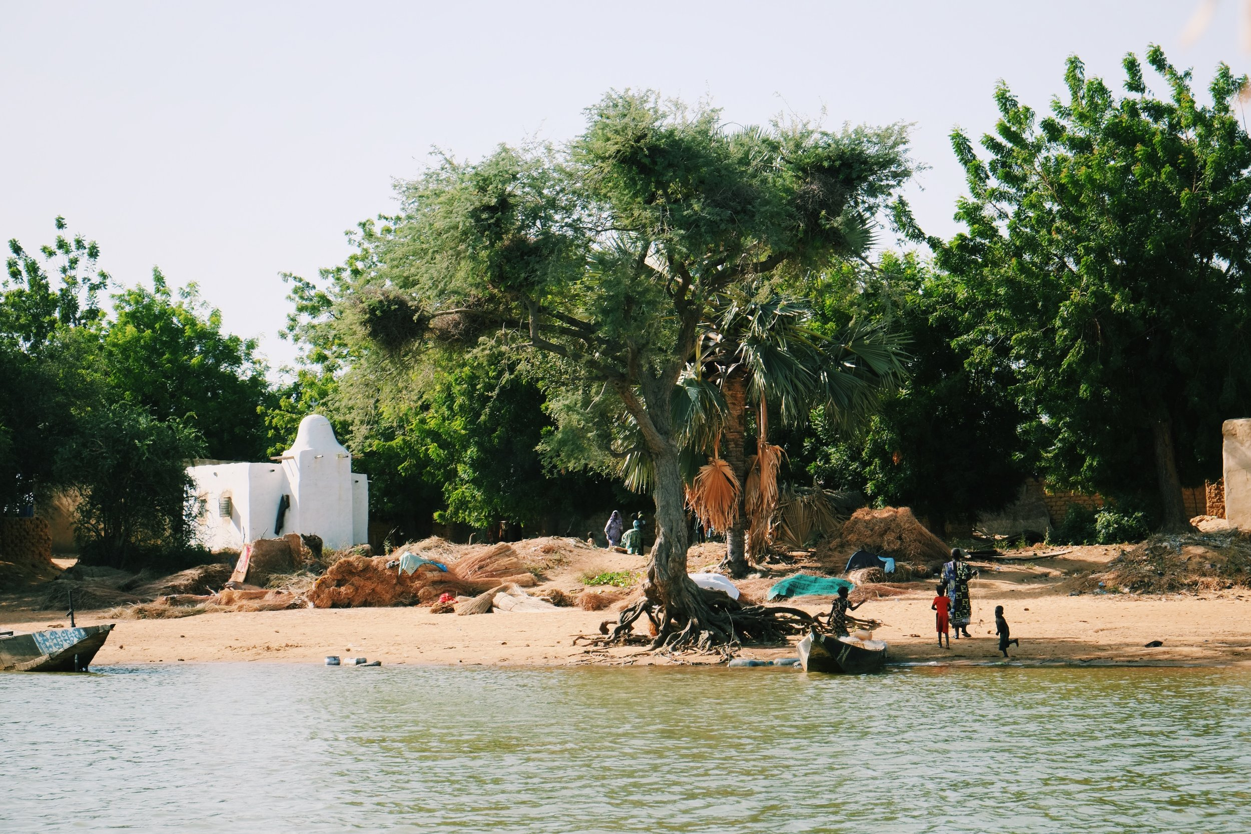 Segou Niger River by Joost Bastmeijer in Mali.jpeg