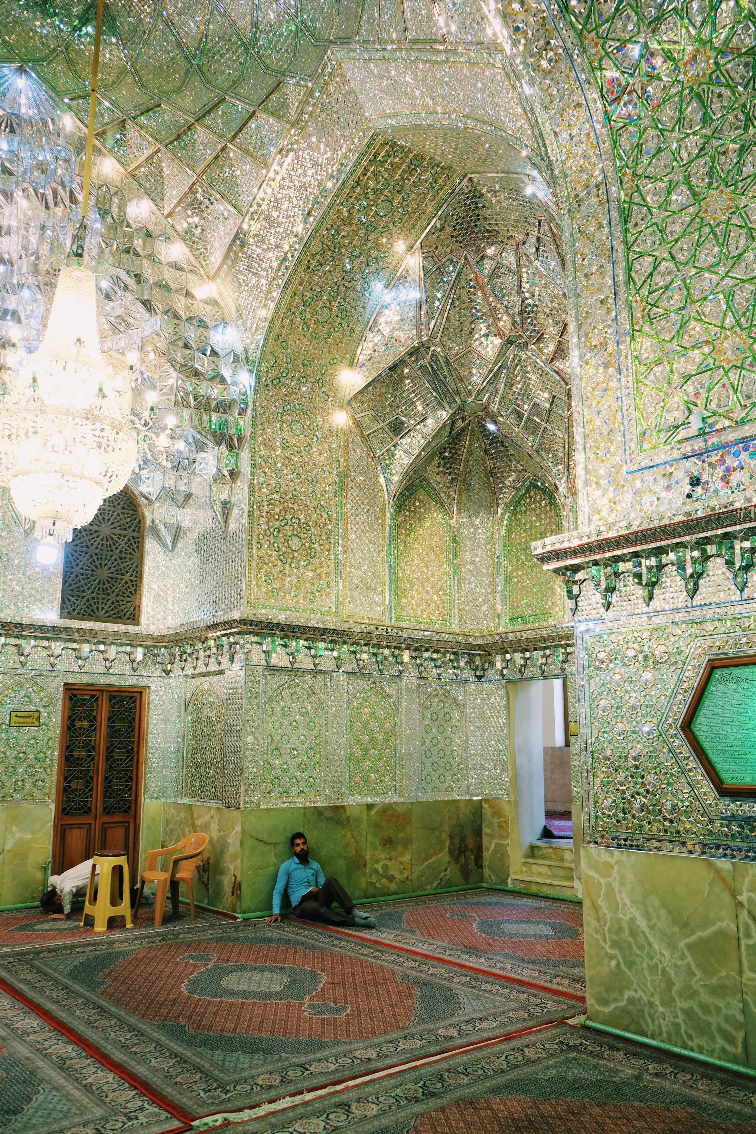 Esfahan Green Mosque in Esfahan in Iran by Joost Bastmeijer.jpeg