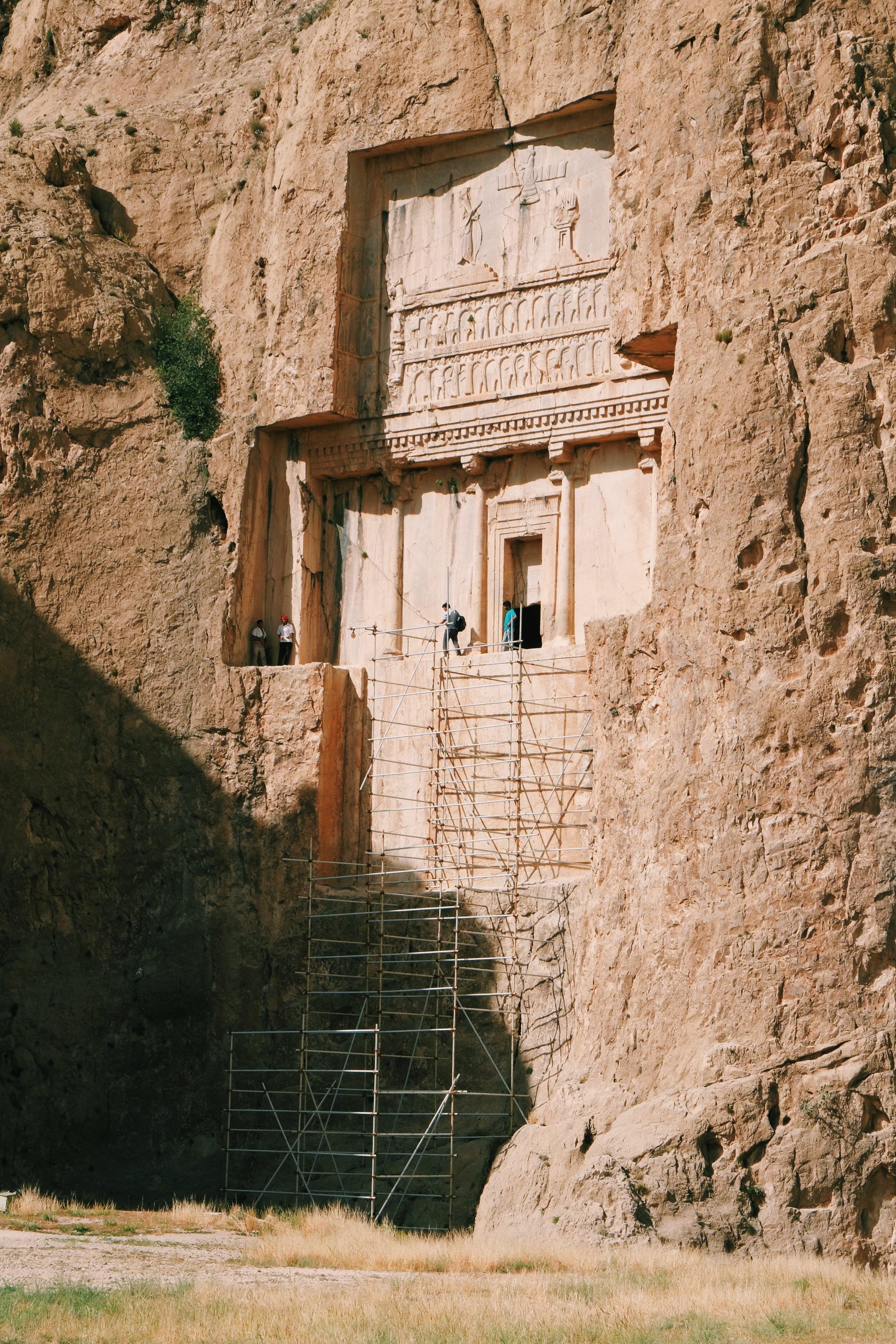 Necropolis Persepolis in Iran by Joost Bastmeijer.jpeg