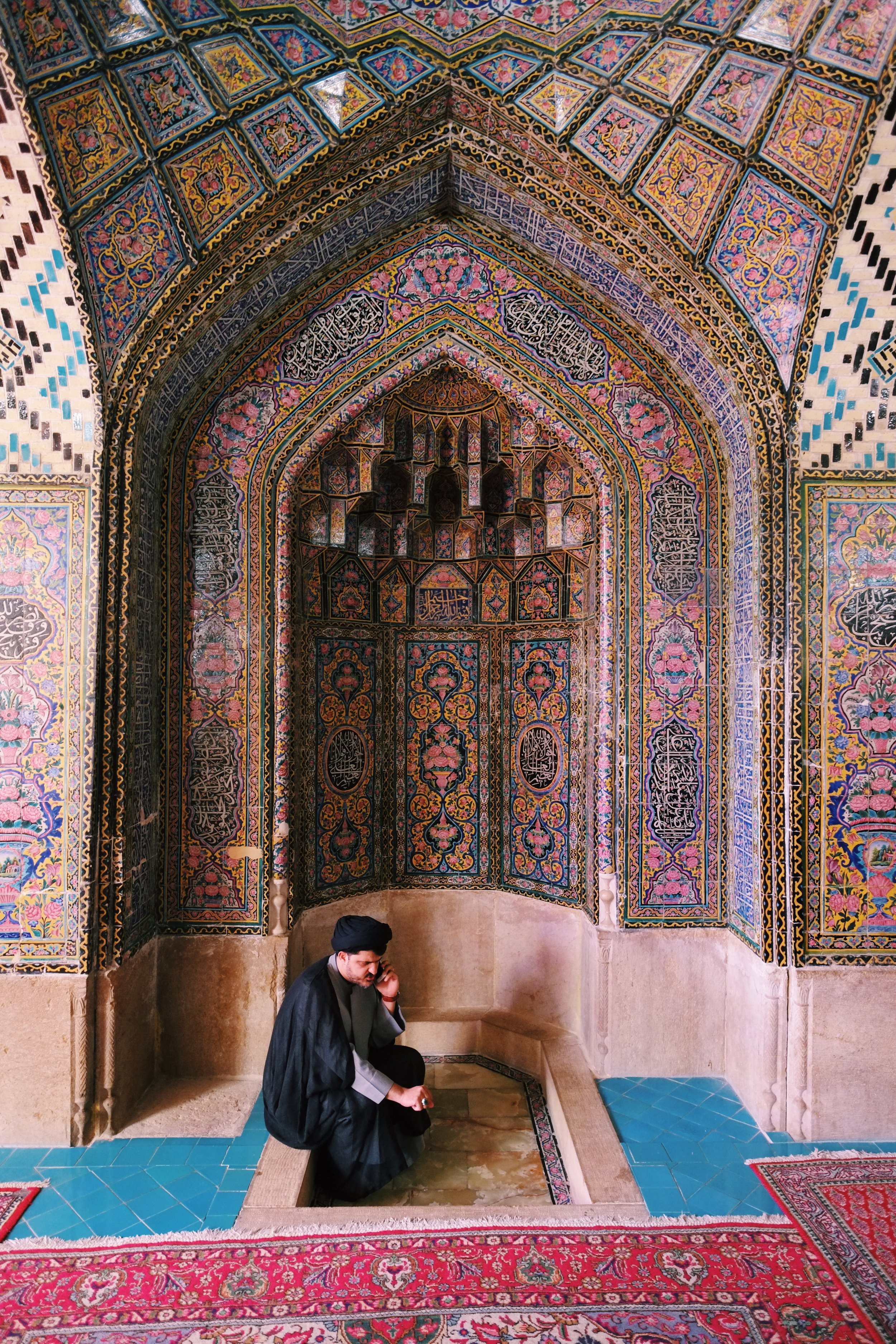 Pink Mosque in Iran by Joost Bastmeijer.jpeg