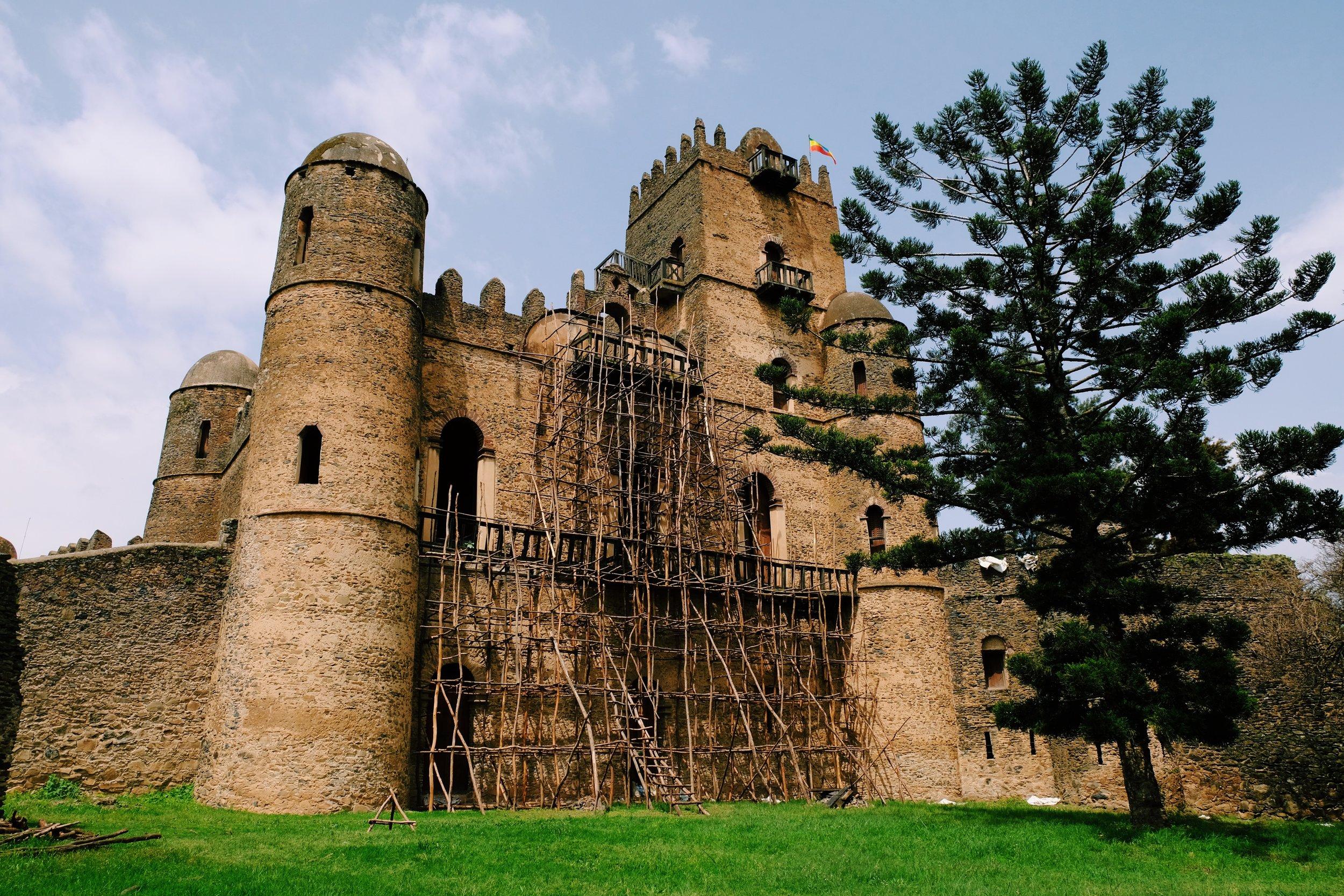 Gondar Castle in Ethiopia by Joost Bastmeijer.jpeg