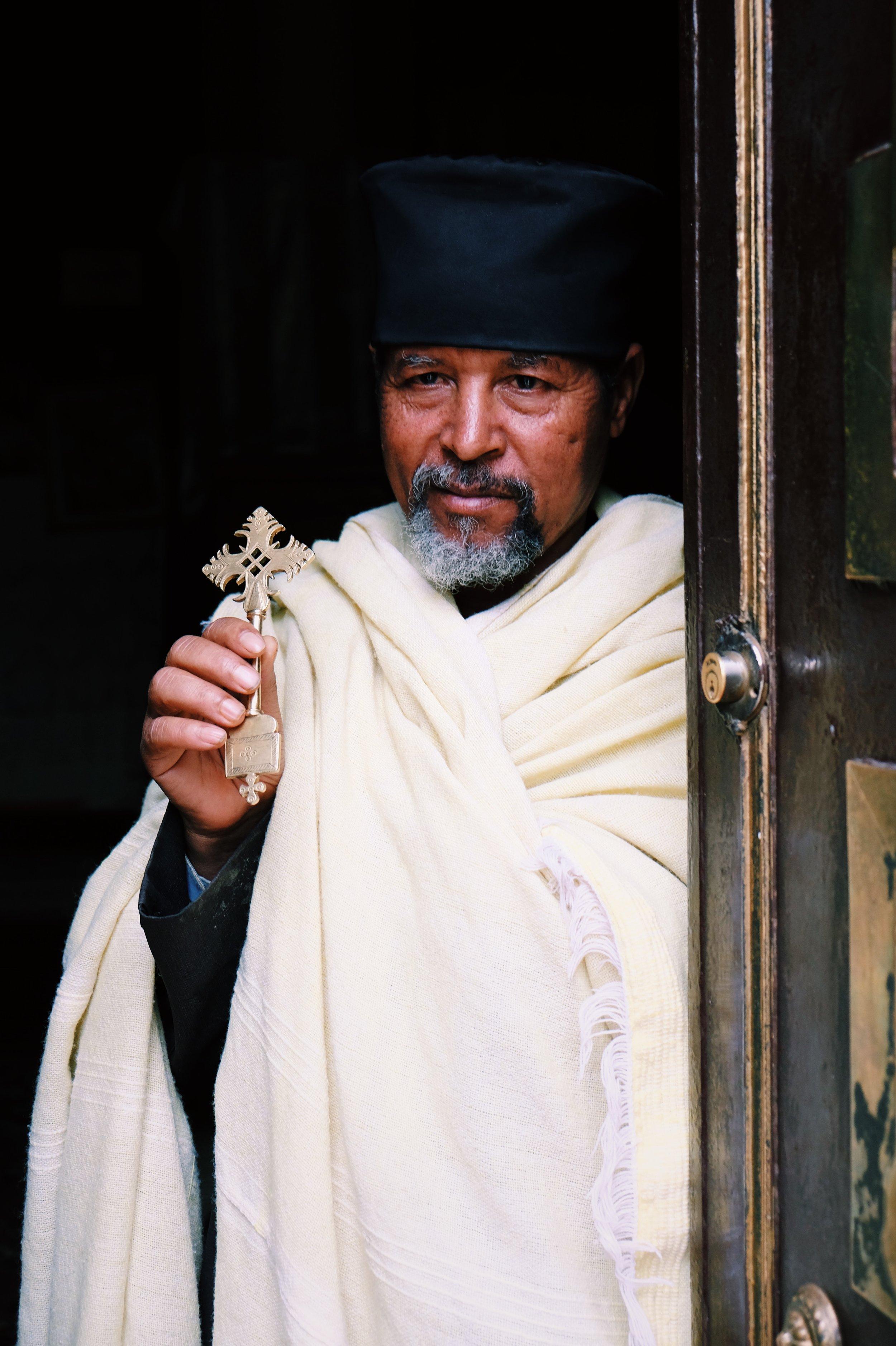 Monk in Addis, St George in Ethiopia by Joost Bastmeijer.jpeg