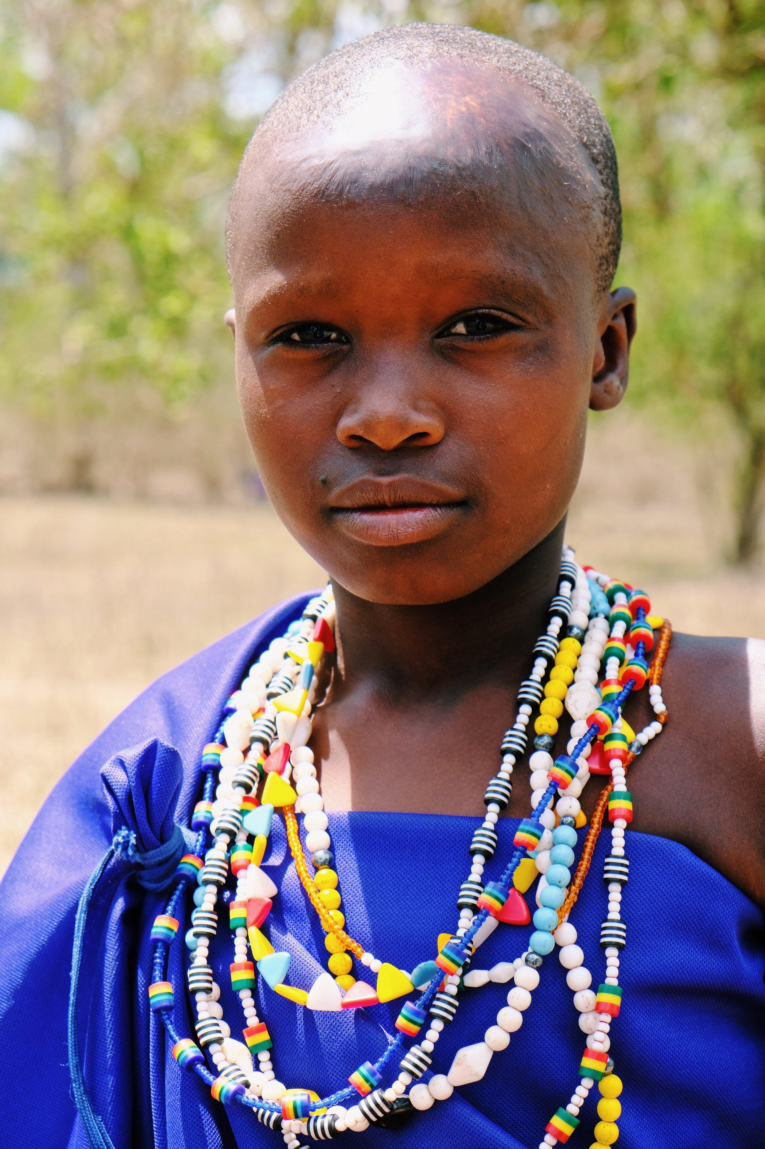 Maasai meisje in Kilindi.JPG