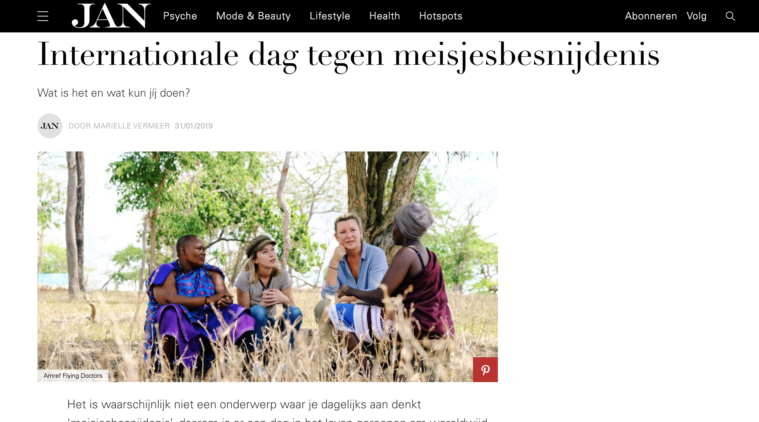Jan Magazine interview Saskia Noort by Joost Bastmeijer.png