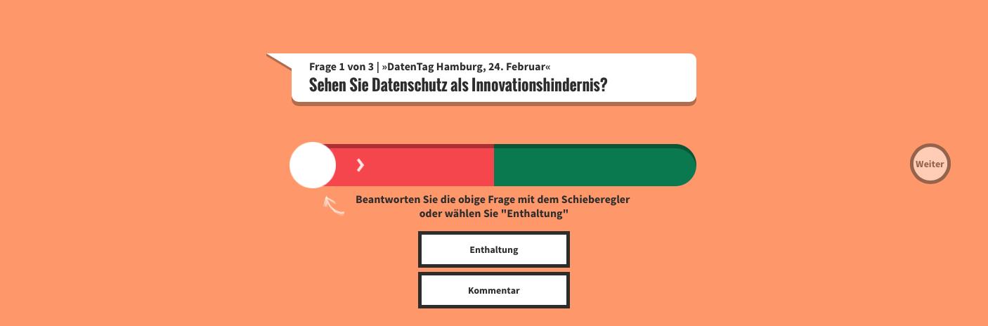 TomVote Umfrage Hamburg