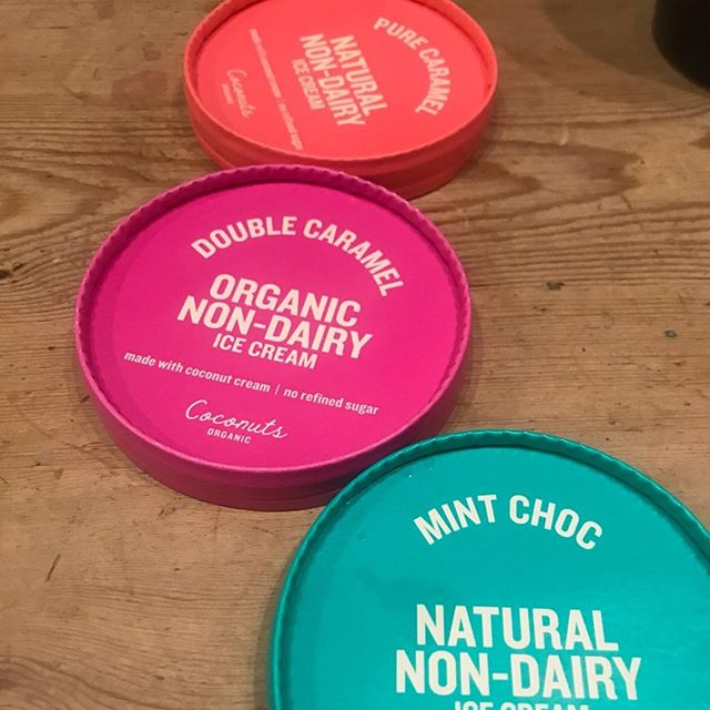 We've got friends over and, well, it didn't take long to crack open the tubs!⁠ ⁠ Ice cream doesn't need to divide us. It's ICE CREAM, it should be delicious, indulgent and F.U.N... And for EVERYONE!!!! You don't need to keep different dietary-based ice creams in your freezer, just different flavours right? ⁠ ⁠ Our non-vegan friends always enjoy our Coconuts Organic ice cream as much as we do. In fact, it's small changes like our ice cream, that make people realise how easy it is to eat a more plant-based diet without missing out on ANY of the stuff you know and love.⁠.. No, it's not all just avocado on toast is it guys! 😂🌱⁠ ⁠ #nondairy #glutenfree #dairyfree #soyfree #palmoilfree #eatmoreplants #plantbaseddiet #eatclean #eatwell #helptheplanet #crueltyfree⁠ .⁠ .⁠ .⁠ .⁠ .⁠ .⁠ .⁠ .⁠ .⁠ .⁠ .⁠ .⁠ .⁠ #YesItsVegan #ItsYummy #ItsForEveryone #DairyFree #UnrefinedSugarFree #Organic #NaturalFood #PlantBased #VegansofIG #PaleoFriendly #FodMapFriendly #FoodHeaven