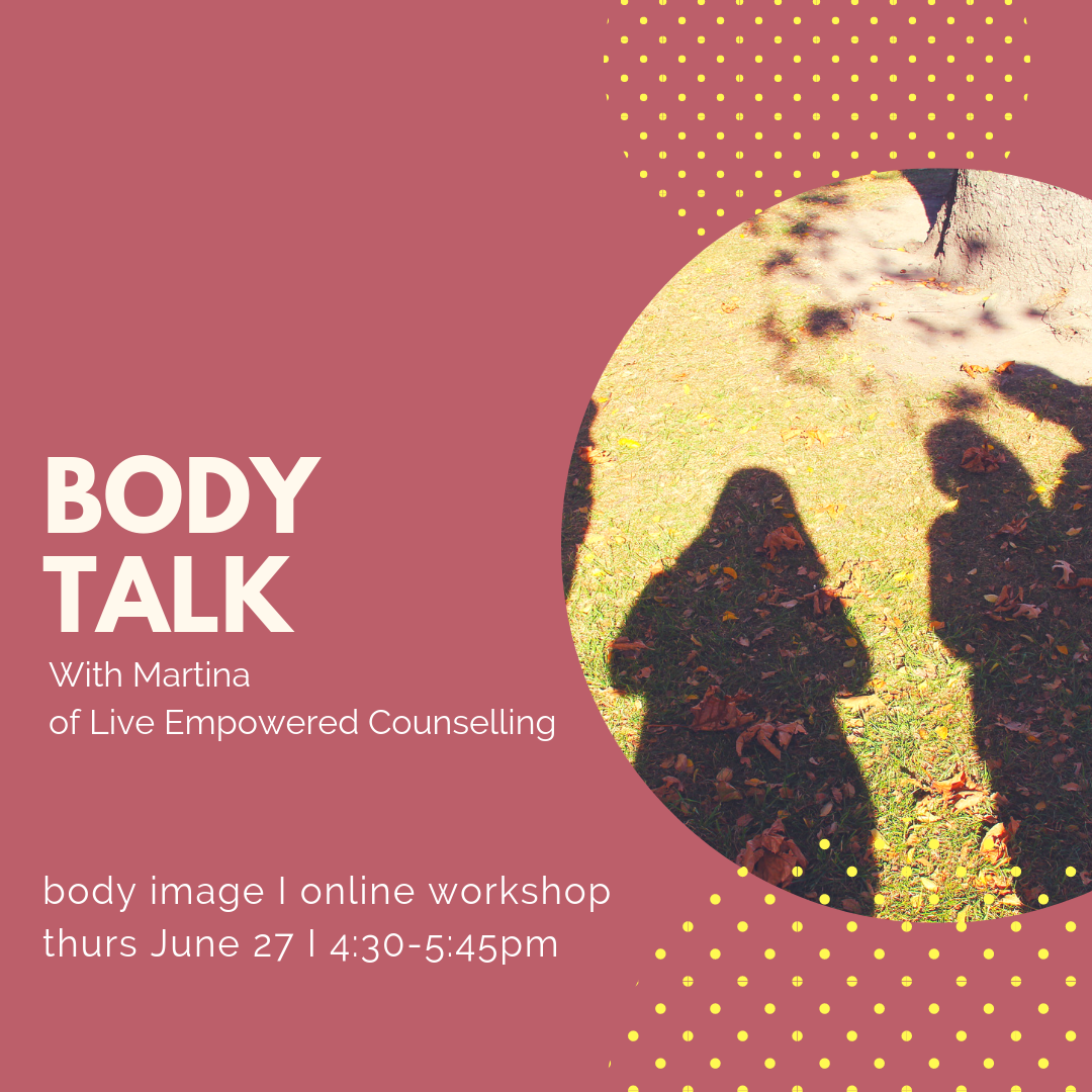 Body talk body image online workshop