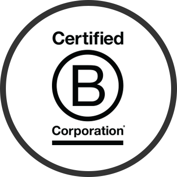 We are B Corp certified