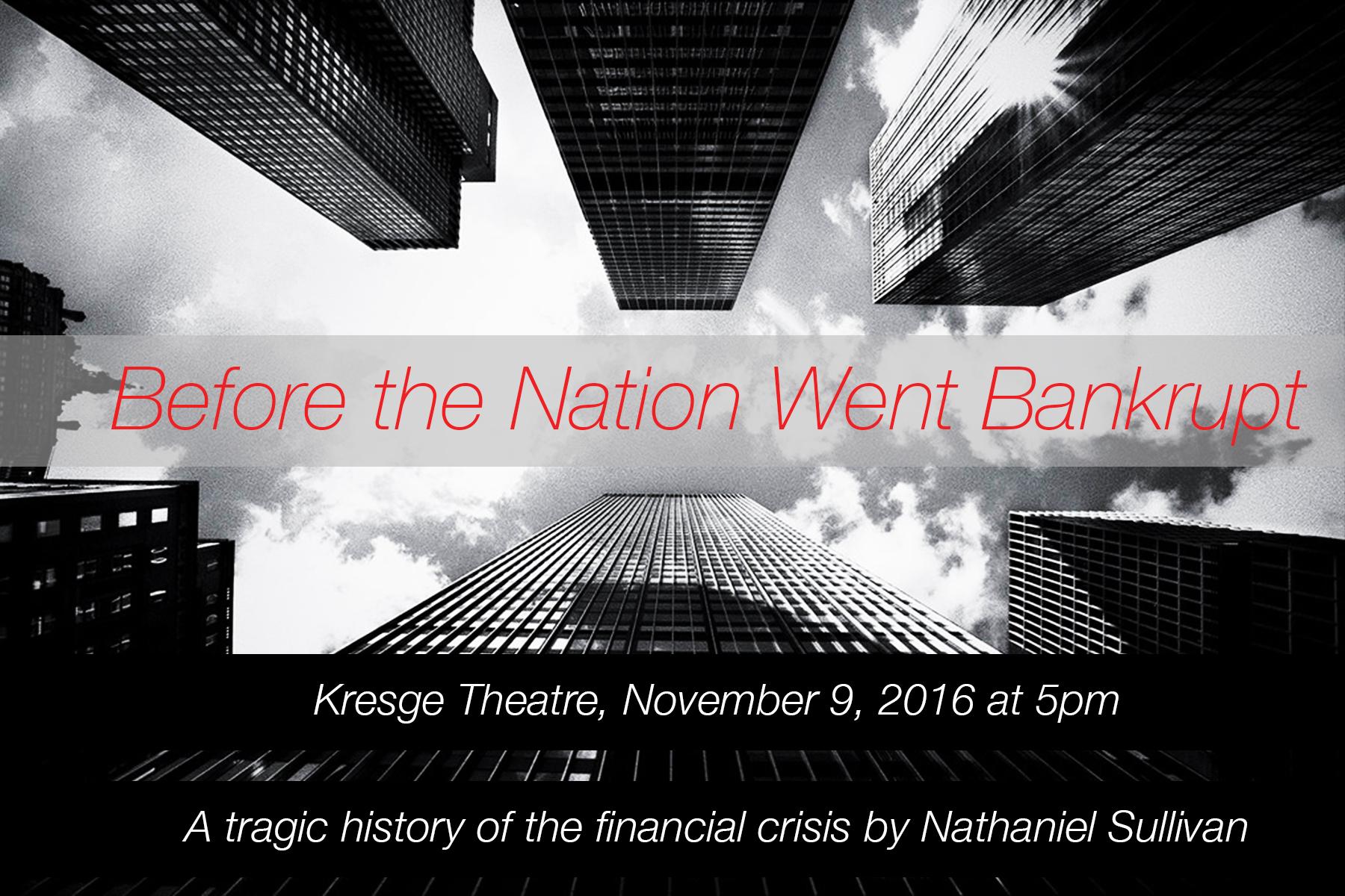Performance flyer, November 2016