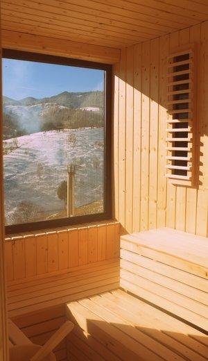 Akasha Retreat Center Sauna