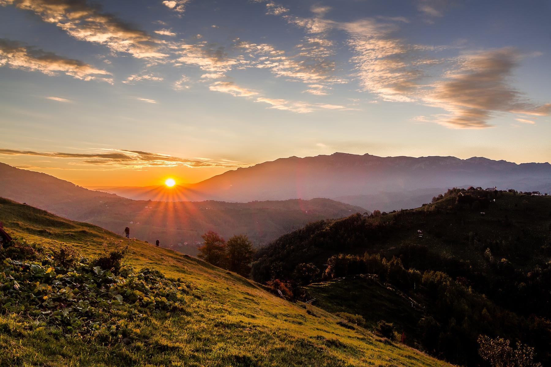 Piatria Craiului View from Akasha Wellness Retreat