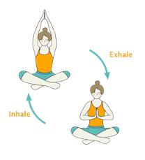 Easy Pose Prayer Hands Flow  Sukhasana Namaste Hands Vinyasa