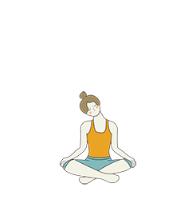 Seated Ear To Shoulder Pose  Sukhasana Ear To Shoulder