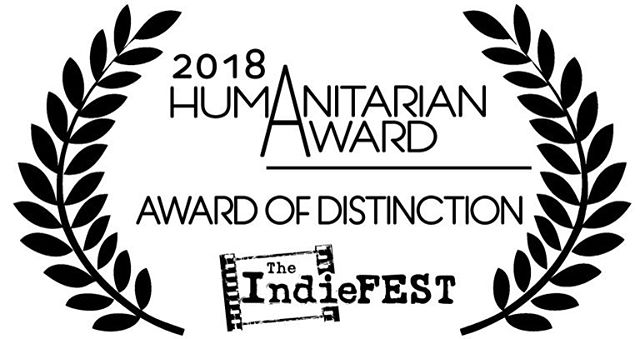 """Humbled that #DOTWS has won a 2018 Humanitarian Award from The IndieFest Film Awards. Didn't see this coming at all. #indiefestfilmawards highlights films that """"represent the spirit of humanitarianism combined with quality filmmaking."""" Honored and very thankful for this journey. @joshlopata @justinanixon @troyreimink @abemanatee"""