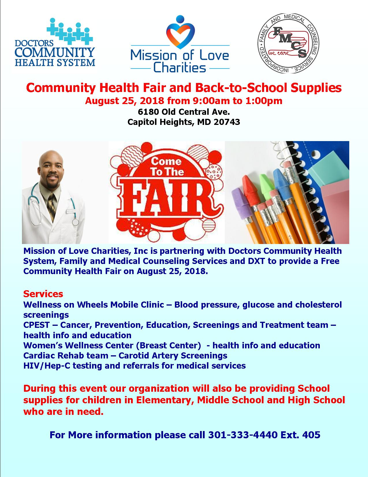 Free Health Fair Clinic August 25, 2018.jpg