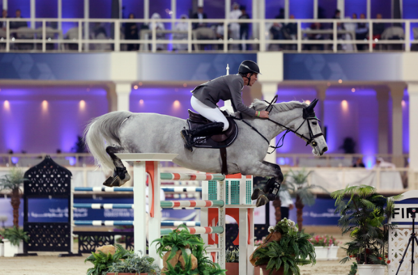 We spent a wonderful afternoon watching world champions compete in jumping and dressage.