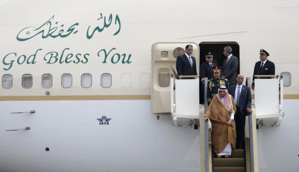 The Saudi King doesn't worry about weight restrictions. He just fills his planes! He is currently on a tour of Asia with his entourage and  500+ tons of luggage , including an escalator and and elevator!