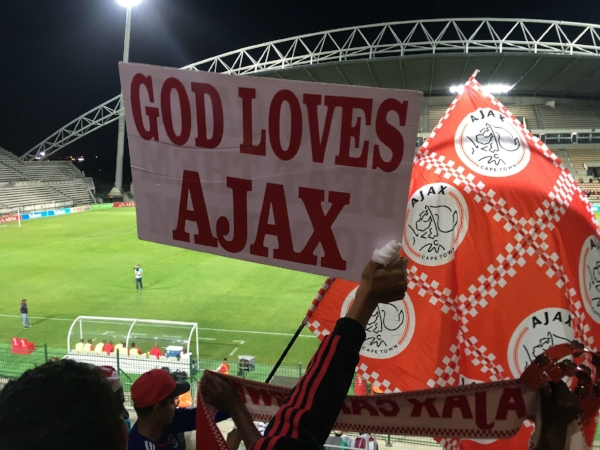 God love Ajax and he is good to us, too. The match ended in 2 - 2 draw that favored Ajax.