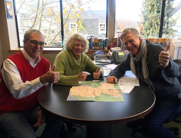 """Spending a morning with Rick Steve's was a highlight of our time back """"home"""" in Seattle last December."""