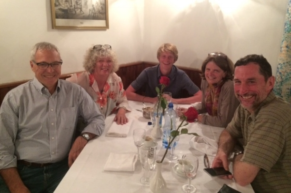 The Italian influence still lingers in Addis Abiba and we enjoyed a meal Mama would have been proud of with our new friends.