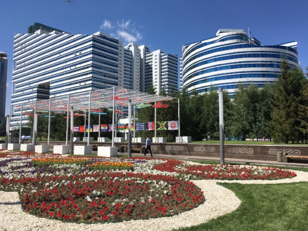 Astana is a glittering new, and beautiful city made from scratch!