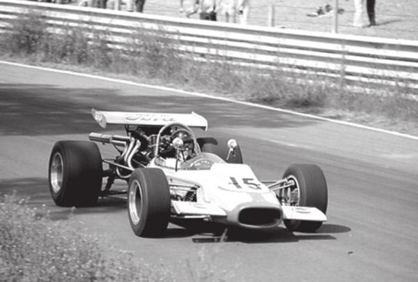 Michael racing his F-5000 Down Under in the 1970 Tasman Series.
