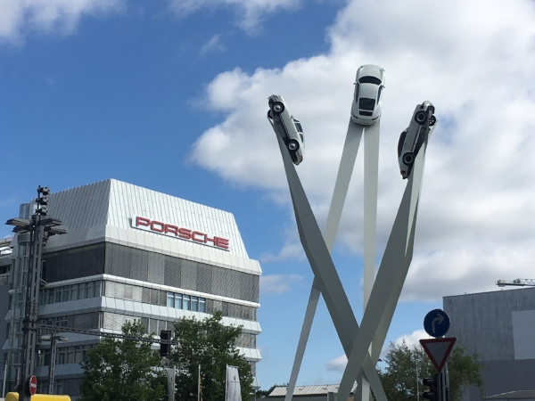 The Holy Grail. The Headquarters for Porsche and the site of the factory and museum.