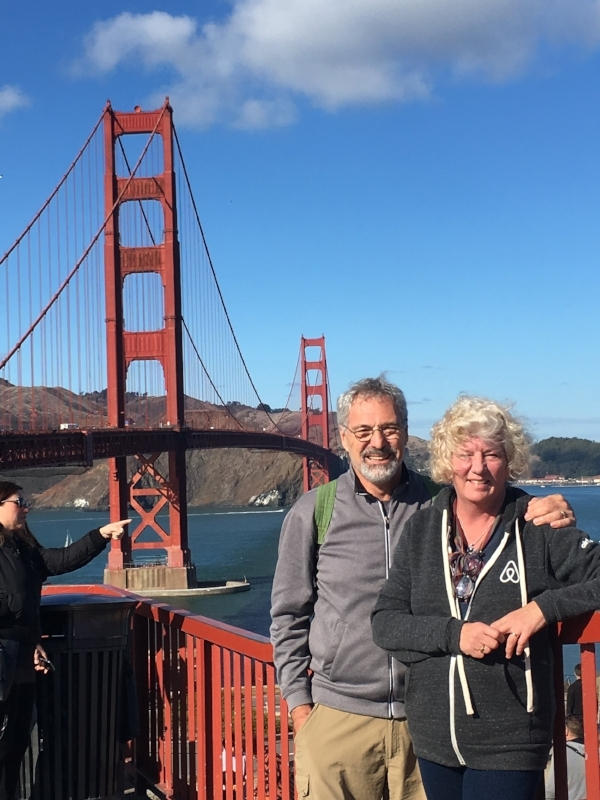 Walking both directions across the Golden Gate Bridge was just one of many memorable moments during our ten-week stay in this fabulous city by the bay.