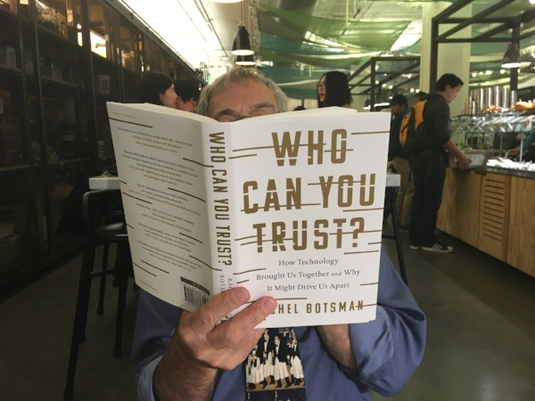 Here's a page turner Michael picked up at an author reading during our Senior Internship last fall at Airbnb's headquarters in San Francisco.