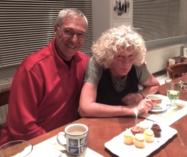 Our hosts prepared a lovely birthday dinner for me that included wicked little cupcakes.