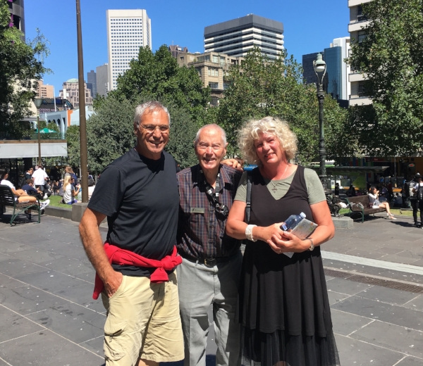Finishing up our extensive walk through Melbourne CBD with John. If you are heading to Melbourne book a free greeters tour in advance, it's well worth it!