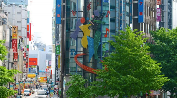 Tokyo is jam packed and colorful signage dominates the landscape - but there was plenty of room for trees and pocket parks throughout the city.