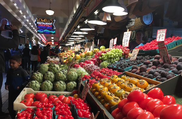 I've been shopping at the market most of my life and it never gets old.