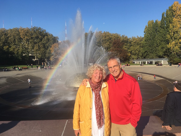 A beautiful fall day at The Seattle Center. Just across the way from where we were house-sitting.