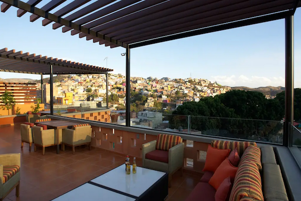 The expansive rooftop at Casa Terreza was the perfect place to spend a lazy afternoon reading or having a a glass of wine over a Scrabble match at the end of the day.