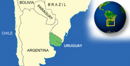 Just like the country itself, this blog on Uruguay will be squeezed between the Argentina and Brazil posts!
