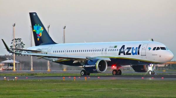 We flew on the Brazilian airline Azul to Rio de Janeiro. This became number 51 on the list of Airlines we have flown.
