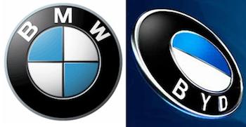Hmmm. I wonder how BMW feels about the BYD emblem?