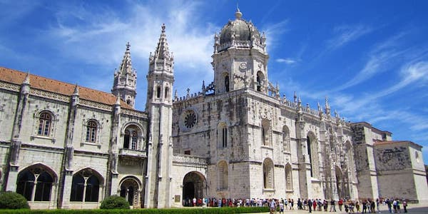 The Monestario dos Jeronimos is impressive. But the church next door has fewer tourists and is free.