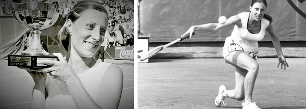 Francoise was the 1967 French Open Women's Champion. She was known for her very unusual backhand.