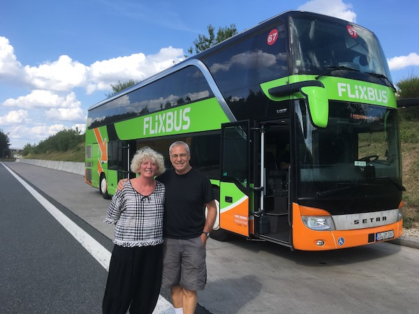 Flixbus offers 300,000 daily connections to 1,700 locations in Europe. No wonder we saw them everywhere